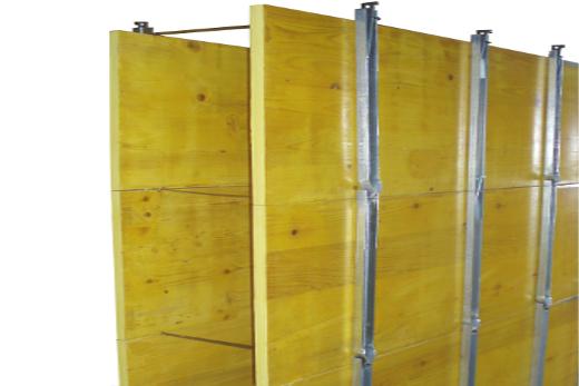 Legnotre industriale formwork systems pannelli per casseforme sistemi ed accessori per - Pannelli gialli tavole armatura ...